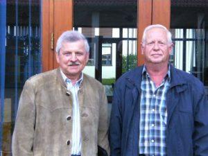im Bild v.l.n.r.: Hr. Lommer, Hr. Köbinger